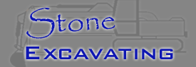 stone excavating logo